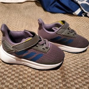 Adidas toddler sneakers. NEVER WORN